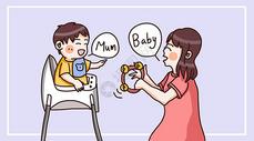 亲子教育温馨国际交流插画图片