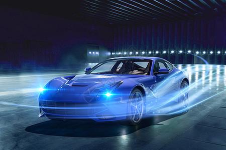 动感汽车特效图片