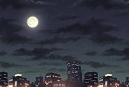 城市月光图片