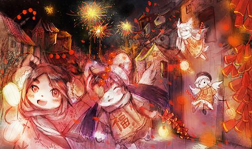 新年祝福图片