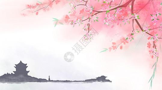 矢量中国风梅花素材图片