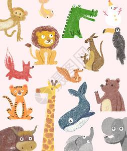 动物插画素材图片