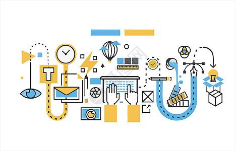 学习技术背景图片