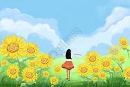 拥抱春天图片