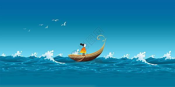 航海矢量背景图片