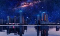 星空之城图片