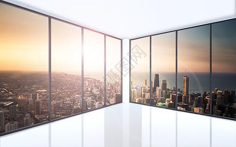 城市观景台图片