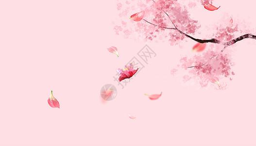 彩绘花朵素材图片