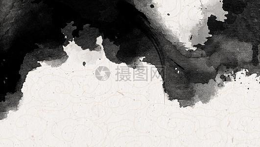 中国风水墨泼墨背景图片