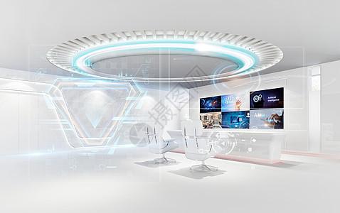 科技研究操作空间图片