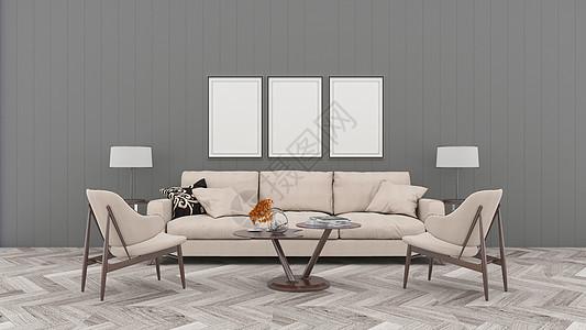 现代简约室内效果图图片
