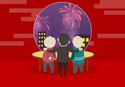 春节团聚图片
