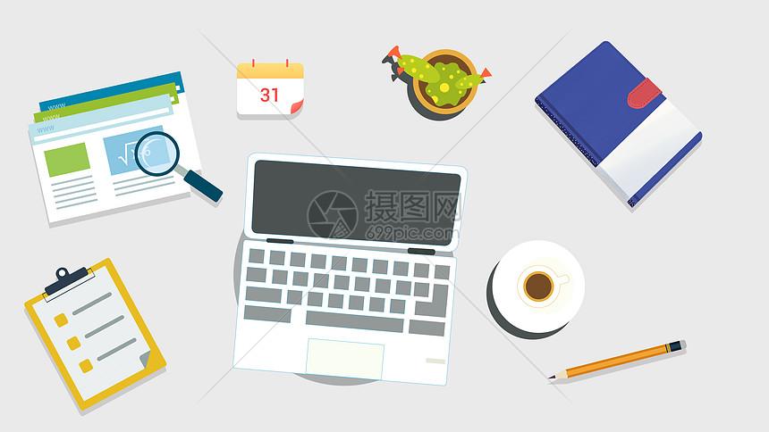 办公会议桌面图片