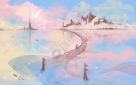 魔幻城堡水上公路图片