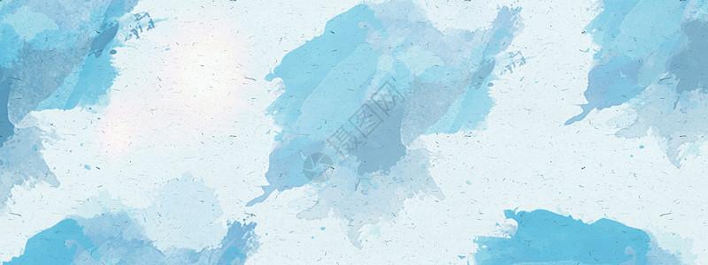 水彩蓝色背景图片