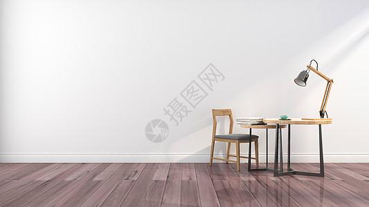 简约桌椅家居背景图片
