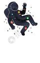 太空手绘插画400080429图片