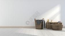 现代简约室内摆件背景图片