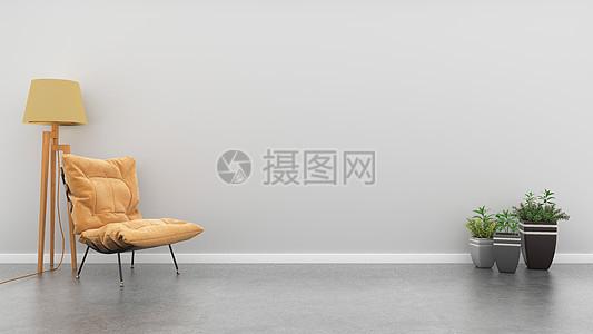现代简约休闲室内背景图片