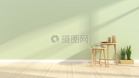 简约清新室内家居背景图片