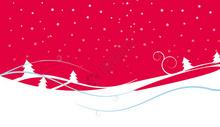 红色圣诞图片