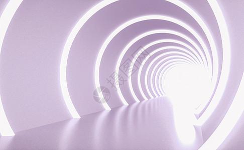 抽象几何空间背景图片