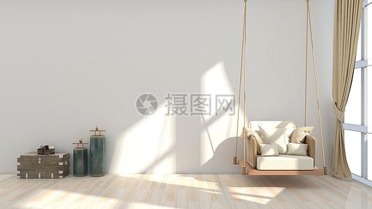 简约清新现代室内家居背景图片