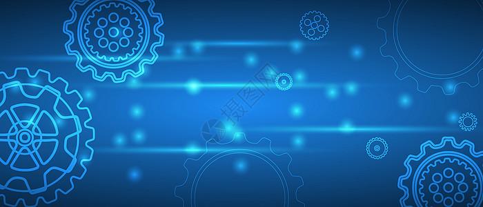 抽象工业科技背景图片