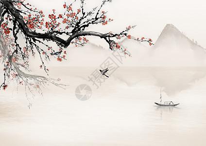 冬季梅花图片