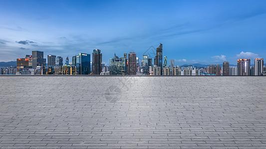汽车城市背景图片