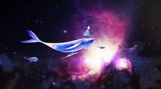 梦幻鲸鱼图片