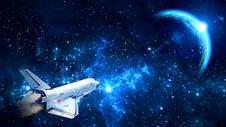 科幻太空背景图片