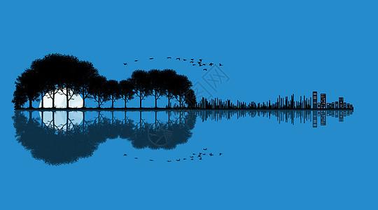 月光小提琴图片