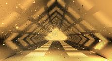 几何科技黑金背景图片