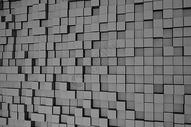 立体方格背景图片