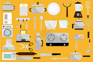 厨房用品集合图片