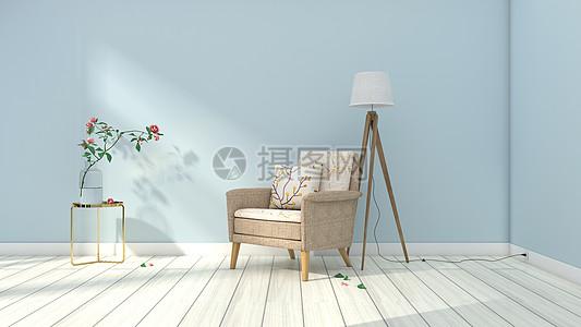 欧式清新简约室内家居背景图片