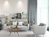 客厅沙发组合效果图图片