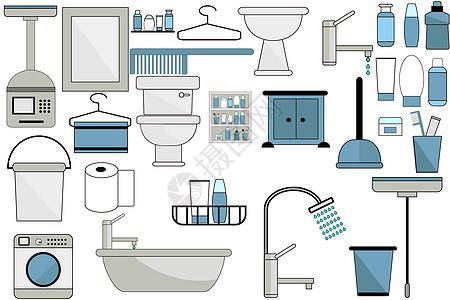 浴室用品图片