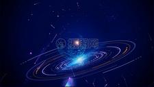 星球科技背景图片