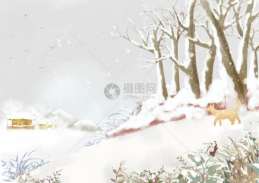 故乡的冬天图片