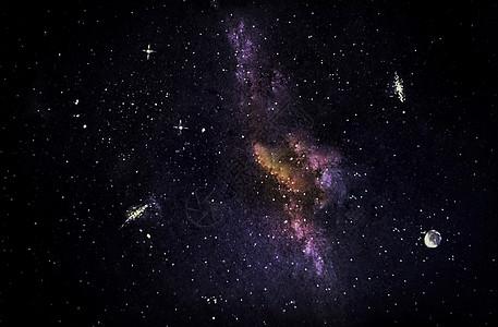 宇宙银河星系图片