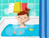 可爱的浴室图片