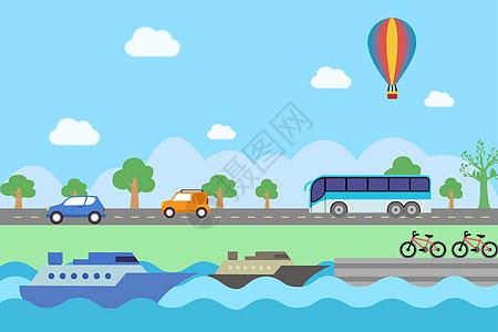 水陆运输图片