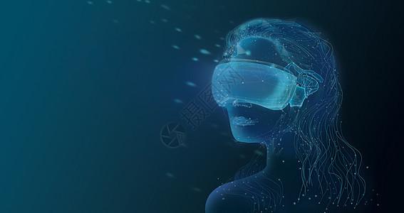 现实与虚拟科技图片