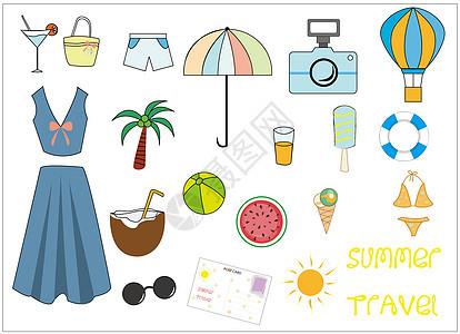 夏日旅行图片