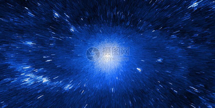 星空宇宙蓝色背景图片