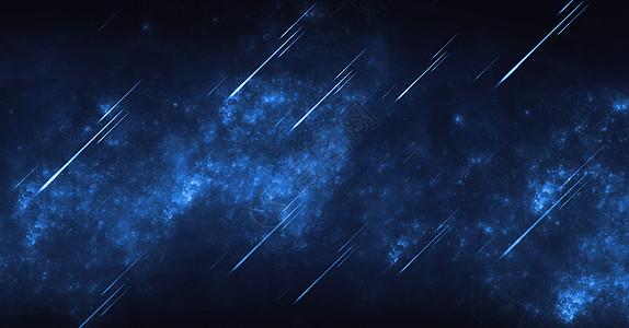 流星星空背景图片