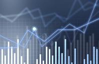 商务数据上升图片