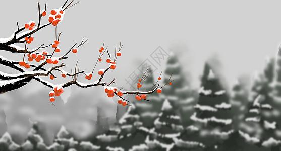 冬季大雪景色图片